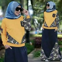 baju gamis wanita / long dress muslim / maxi dress