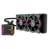 Alseye HALO H240 Liquid CPU Cooler RGB Fan Case 2 Pcs
