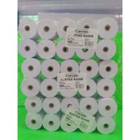 Paper Roll / Kertas Kasir, ukuran 75mmx65mmx12mm, 2ply, merk Paperline