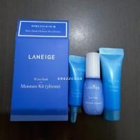 Laneige Water Bank Moisture Kit 3 items Trial Travel Sample set