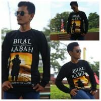 Kaos Tauhid / Kaos Bilal Bin Rabah / Koas Sahabat Nabi / Kaos Pria