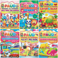 Buku PAUD Mengenal dan Mewarnai Berbagai Seri Edukasi Murah Meriah