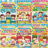Buku Aktifitas Anak Edukasi Belajar Menggunting, Menempel dan Mewarnai