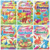 Buku Mewarnai Anak Size Medium Edukasi Murah Meriah Termurah
