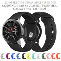 22mm Silicone Strap APS Band for SAMSUNG GEAR S3 GALAXY WATCH 46MM