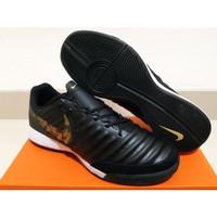 Sepatu Futsal Nike Tiempo LegendX 7 Academy Genio Black Lux