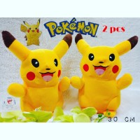 boneka pokemon go pikachu