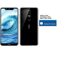 Nokia 5.1 Plus Smartphone - Gloss Black [3GB/ 32GB] - Hitam
