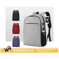 Tas punggung | Tas anti maling | Tas ransel | Backpack Usb