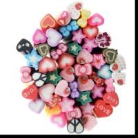 MAOstore Fimo stick nail art hiasan kuku hp case 3D motif love star