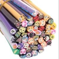 MAOstore Fimo stick nail art hiasan kuku hp case 3D motif animal