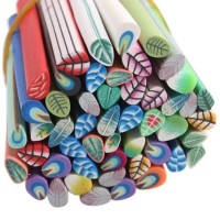 MAOstore Fimo stick nail art hiasan kuku hp case 3D motif daun