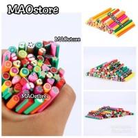 MAOstore Fimo stick nail art hiasan kuku hp case 3D motif fruit