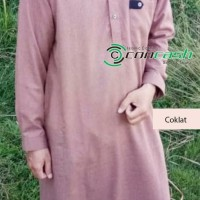 jubah/baju koko panjang