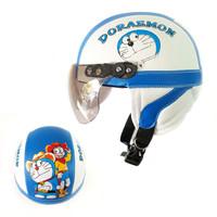 NEW Helm Anak Retro Karakter Doraemon