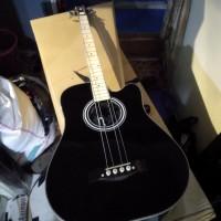 Gitar bass akustik elektrik Tuner LC