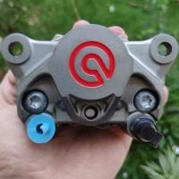 Kaliper Brembo 2 Piston 1 Pin Ninja 250 Ninja 150RR Karbu Z250 MT25 2p