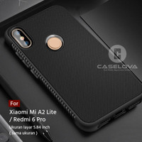 Case For Xiaomi Mi A2 Lite / Redmi 6 Pro Protection Anti Slip TPU