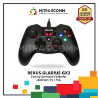 Rexus Gladius GX2 Pro Stick Gaming Gamepad Controler ANDROID PC PS3