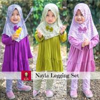Nayla Legging Set - Baju Muslim Anak - Baju Lebaran Anak