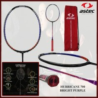 Raket Badminton ORIGINAL ASTEC HURRICANE 700 UNGU