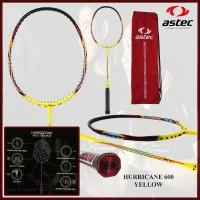 Raket Badminton ORIGINAL ASTEC HURRICANE 600 KUNING