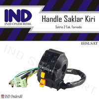 Handle-Handel-Hendel-Holder Switch-Saklar Kiri Satria 2 Tak-Hiu-Lumba