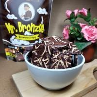 Mr. Bronzee / Brownis Crispy / Cemilan sehat & Lezat / Snack Kekinian