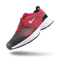 Sepatu Eagle Sky-Hawk Merah – Running Shoes - Hitam
