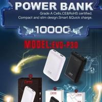 Power Bank EVO P30 10000mAH(ORIGINAL) + 2USB