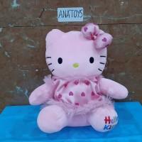 boneka hello kitty bahan yelvo pink