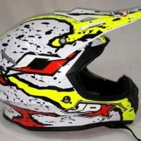 Helm cross jpx grafity warna kuning