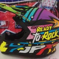 helm cross JPX Ready to Rock Black Violet