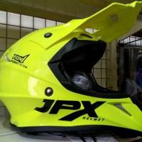 Helm cross Jpx FOX 1 warna kuning Glossy