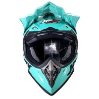 Helm cross jpx Fox 1 warna Tosca Kilat