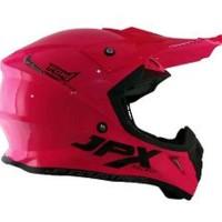 Helm Cross JPX FOX 1 Warna pink Kilat