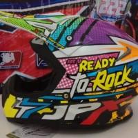 helm cross JPX Ready to rock Black Pear