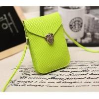 Tas Selempang Wanita Ukuran Mini Multilaer untuk Menyimpan Hp Dompet