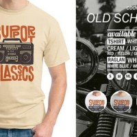 New Back To Basic - Kaos Old School 80'S / Kaos Baju Pria Distro