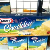 Keju cheddar Kraft repack 200 gr