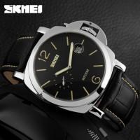 SKMEI Jam Tangan Analog Pria - 1124CL - Black/Yellow