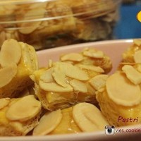 Pastry Almond / kue pastry almond