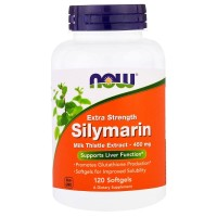Now Foods Silymarin 450 Mg Extra Strenght Milk Thistle 120 Caps