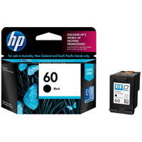 CATRIDGE HP 60 BLACK ORIGINAL 100%