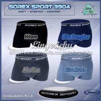 Celana Dalam Pria Model Boxer Lembut Super Soft Sorex 3904