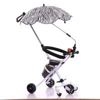 kereta dorong bayi / kereta bayi lipat / stroller lipat LED wheel