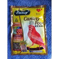 Fancy gold food canary pakan kicau song toner burung love bird parkit