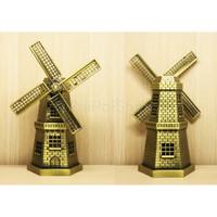 Pajangan Miniatur Miniature Holland Belanda Windmill Kincir Kecil