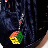 Gantungan Kunci Rubik Mainan Edukasi Asah Otak Kreatif Kubus Souvenir