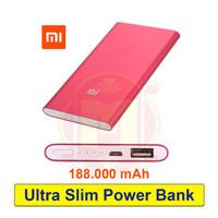 Ultra Slim Powerbank Xiaomi 188.000mAh - Power Bank Xiaomi 188000mAh